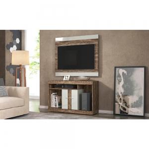 Conjunto Rack Com Painel para TV até 42'' San Diego Smart