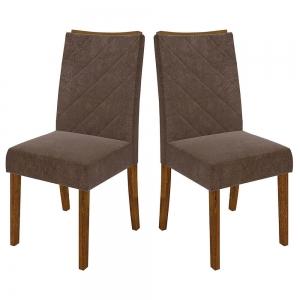 Cadeira Golden Conjunto com 2 Cadeiras