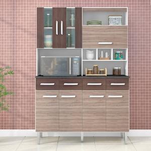 Kit para Cozinha com 7 Portas e 4 Gavetas Melissa