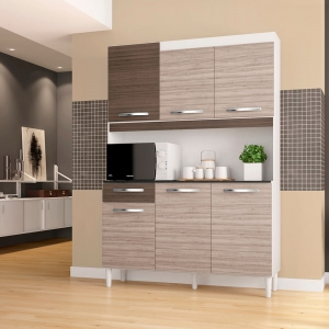 Kit para Cozinha com 6 Portas Carine